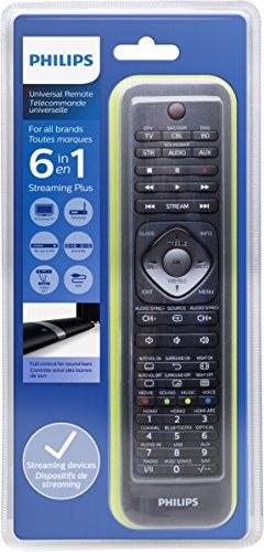 Philips SRP5016/10 Universal Fernbedienung (6-in-1, TV, Blu-ray, STB, STR, SB, AUX) schwarz - 3