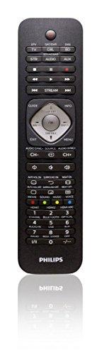 Philips SRP5016/10 Universal Fernbedienung (6-in-1, TV, Blu-ray, STB, STR, SB, AUX) schwarz - 1